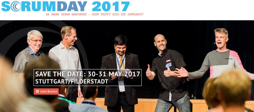 Neuigkeiten vom Scrum Day 2017, in Filderstadt/Stuttgart